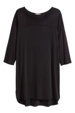 H&M+ Jersey tunic - Black - Ladies | H&M CN 2